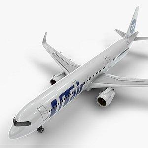 3D a321 neo utair aviation