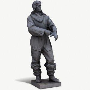 aviator Chkalov 3D