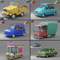 Cartoon Car Collection V3