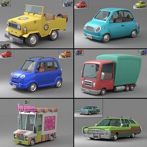 Cartoon Car Collection V3 3D