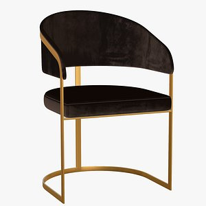 Dining Chair Gold Luxury model