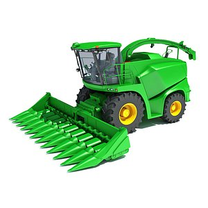 3D Combine Harvester V22
