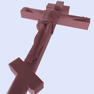 Jesus Christ constructor 3D model