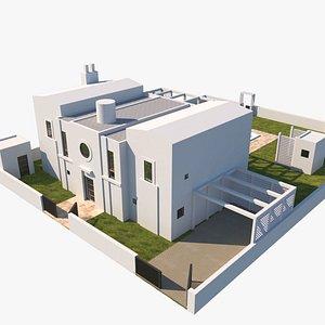 Modern Villa Michael Graves model