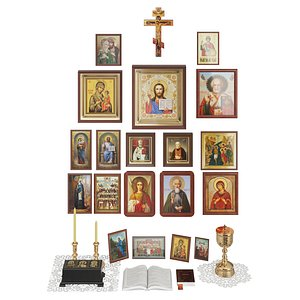 altar icons model