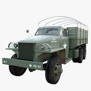 3D studebaker us6 model