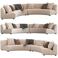 Coco Republic Adele Curved Modular Sofa