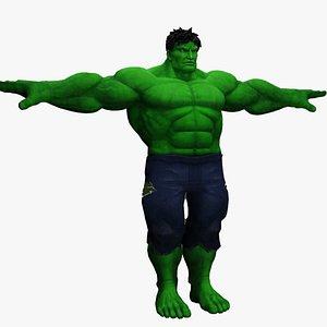 The Incredible Hulk 3D model