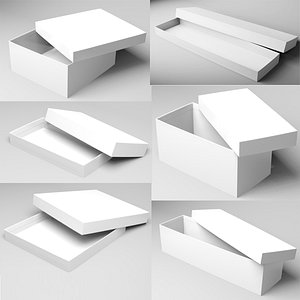 3D model Packaging boxes