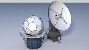 weather radars 3D