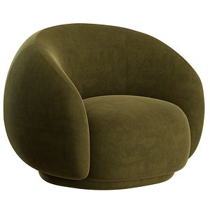 Julep Armchair by Tacchini 3D model