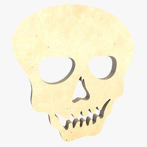 3D Skull Carving