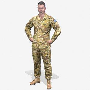 adf defence australian 3D model