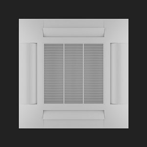 air conditioner 5 3D model