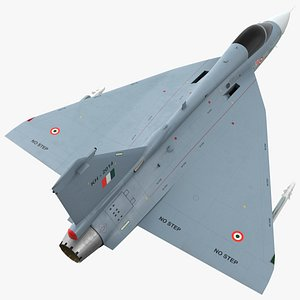 3D HAL Tejas Multirole Light Fighter Exterior Only model