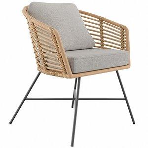 3D TULA Lounge Chair