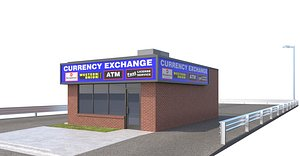store currency 3D model