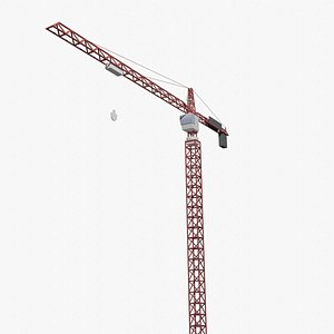 3D simple tower crane