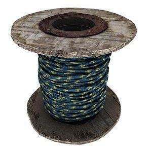Rope Roll 03 3D model