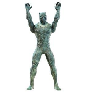 3D Superhero Toy Man Panther