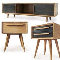 Tvstand , nightstand Bruni by Etg-Home