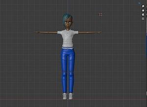 felista di superstar 3D model