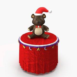 3D model christmas bear