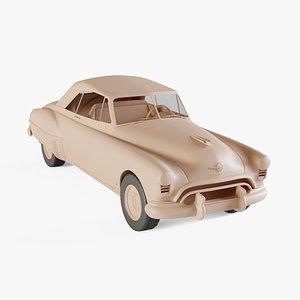 3D 1949 Oldsmobile 88 Futuramic Convertible