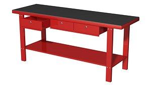 tool table 3D model