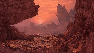 environment mars 3D