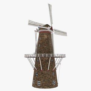 3D windmill architecture