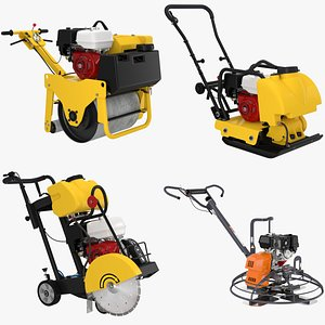 3D Construction Equipment Collection