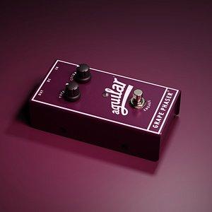 Aguilar Grape Phaser Bass Phase Pedal 3D model