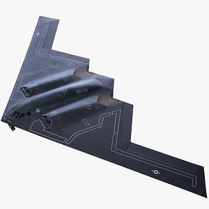 spirit heavy bomber 3D model