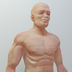 Man Low Polygon 3D model