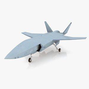 drone wingman 3D model