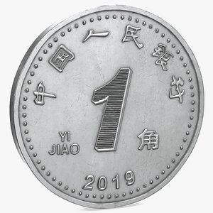 Yi Jiao Coin 3D model