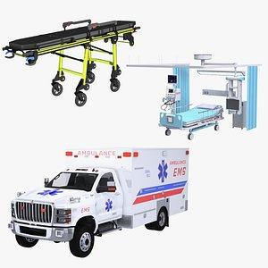 Medical EMS Set model