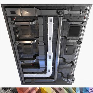 ventilation set 3D