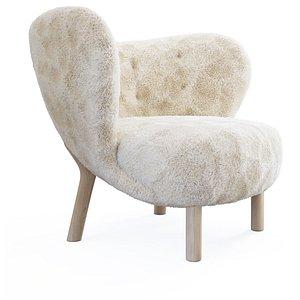 petra armchair 3D model