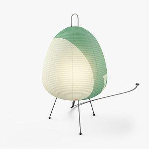 AKARI 1AV lamp by Isamu Noguchi 3D model
