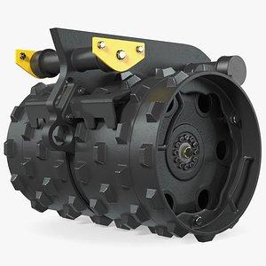 Compaction Wheel 3D model