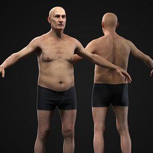 Old man model