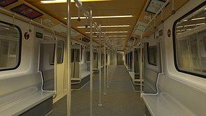 90s metro cabin 3D