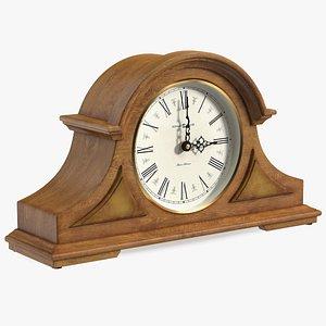 Howard Miller Burton II Mantel Clock Yellow 3D model