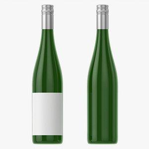 Wine bottle mockup 09 screw cap 3D model