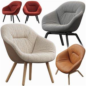 3D Hay lounge armchair model