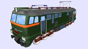 3D m62 electric locomotive model