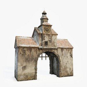 Medieval Archway model