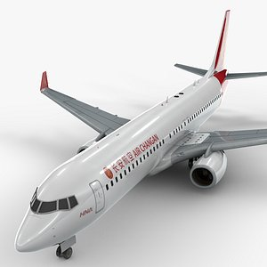 boeing 737-8 air changan 3D model